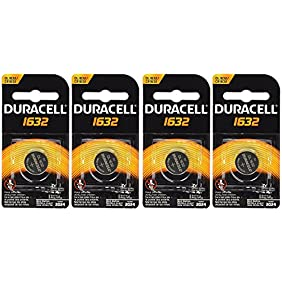 Duracell CR1632 1632 Car veLkW Remote Batteries, 2 Count (2 Pack)