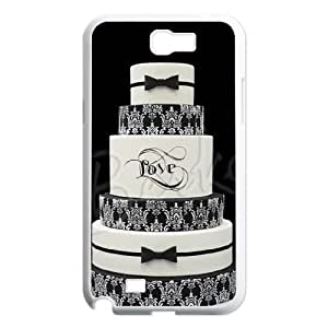 Cake CUSTOM Cover Case for Samsung Galaxy Note 2 N7100 LMc-19768 at LaiMc