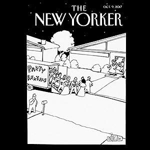 The New Yorker, October 9th 2017 (Rachel Monroe, Janet Malcolm, Kelefa Sanneh) Periodical