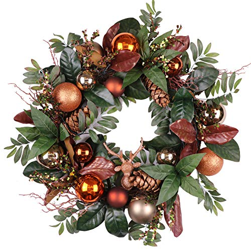 Christmas Wreath Led Lights in US - 8