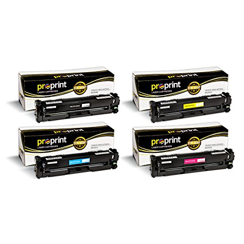 Toner Cartridge Replacement for HP 410X ( Black,Cyan,Magenta,Yellow , 4-Pack ) (000 Compatible Toner Cartridge)