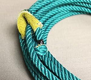 39 Ft. Green Charro Soga Reata Florear Western Nylon Trick Rope