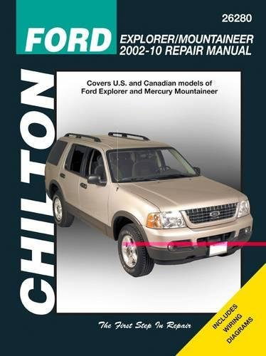 2010 Ford Explorer Light - Ford Explorer & Mercury Mountaineer, 2002-2010 (Chilton's Total Car Care Repair Manual)