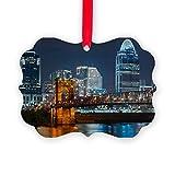 CafePress - Cincinnati Skyline. - Christmas Ornament, Decorative Tree Ornament