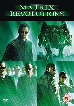 The Matrix Revolutions Dvd 2003 Amazon Co Uk Keanu Reeves Carrie Anne Moss Laurence Fishburne Andy Larry Wachowski Keanu Reeves Carrie Anne Moss Laurence Fishburne Dvd Blu Ray
