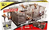 WWE MATTEL NXT Takeover War Games Playset with 2