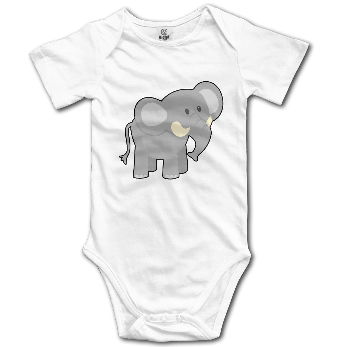 Cute Elephant-1 Newborn Girls /& Boys 100/% Organic Cotton Layette Bodysuit 0-24M