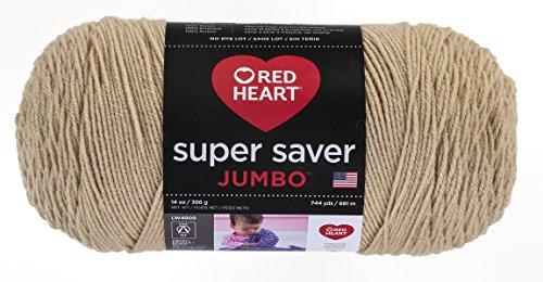 Fun Easter Basket Crochet Patterns - Free & Paid - Red Heart Super Saver Jumbo Yarn, Buff