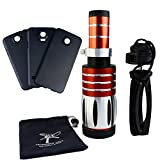 Apexel 50X Ultra Beast Magnifier Zoom Manual Focus Telephoto Telescope Phone Camera Lens Kit with High-end Tripod for Samsung Galaxy S4 S5 S6