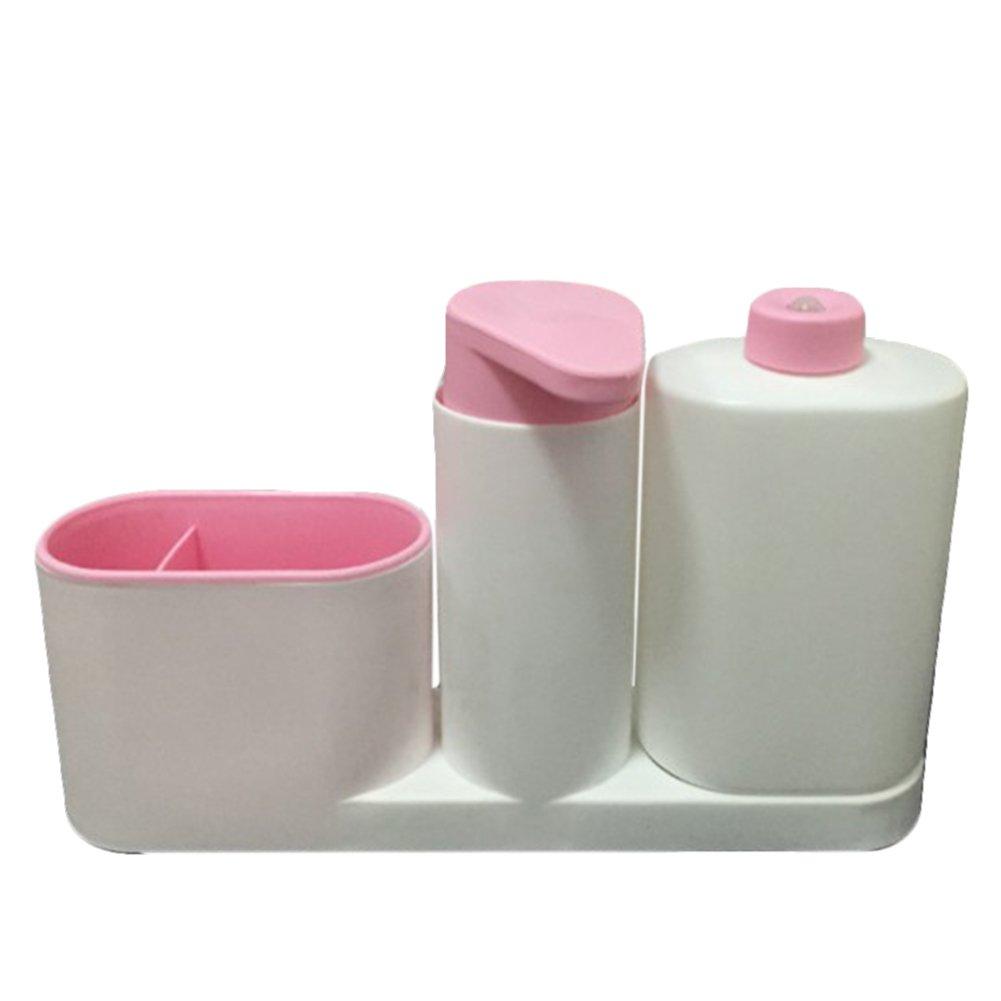 UxradG lavaggio spugna per mensola, multifunzionale per lavello da cucina dispenser di sapone detergente Storage rack organizer, dispenser di sapone liquido da cucina forniture, Blue, Taglia libera