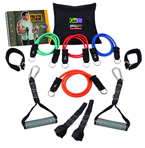 GoFit Extreme Pro Gym Set- Portable Gym and Fitness - Kit Tube Fitness