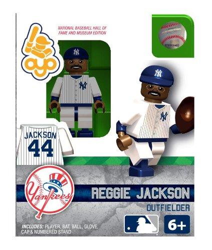 MLB New York Yankees Reggie Jackson Hall of Fame - Of Mini Fame Bat Hall