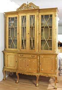 Mueble barroco antiguo del estilo bufé Diario MjKm14023Go colonial