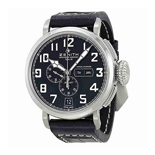 Zenith Men's 0324304054.21C Pilot Analog Display Swiss Automatic Brown Watch