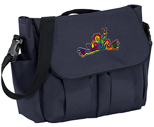Frog Nursery Bedding - Peace Frog Diaper Bags Peace Frogs Baby Shower Gift for DAD or MOM!