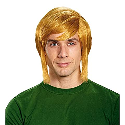 Disguise Men's Link Adult Costume Wig, Blonde, One Size