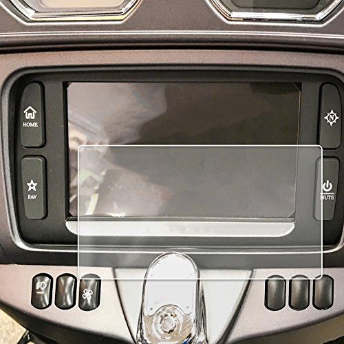 Red Hound Auto 2014-2018 Compatible with Harley Davidson Electra Glide Ultra Classic Boom! Box Motorcycle Screen Saver 1pc Invisible High Clarity Touch Display Protector Minimizes Prints 6.5 Inch
