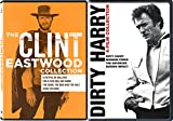 The Essential Clint Eastwood Bundle - Man With No Name Trilogy, Hang'em High, & The Dirty Harry Collection 8-Movie Set