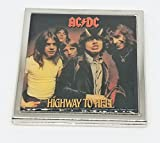 AC/DC Metal Compact Mirror 2.5''
