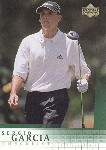 2001 Upper Deck Checklist - 2001 Upper Deck Golf #197 Sergio Garcia Checklist