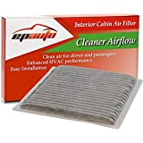 EPAuto CP846 (CF9846A) Subaru/Toyota Replacement Premium Cabin Air Filter includes Activated Carbon