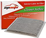 prius cabin air filter 2004 - EPAuto CP846 (CF9846A) Subaru / Toyota Replacement Premium Cabin Air Filter includes Activated Carbon