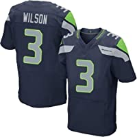 Thole NFL Camiseta Fútbol Seattle Seahawks 3# Wilson Equipo Fútbol Training Jersey Uniformes