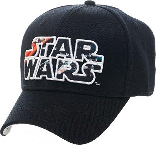 Star Wars Caps (Star Wars X Wing Black Flex Cap)