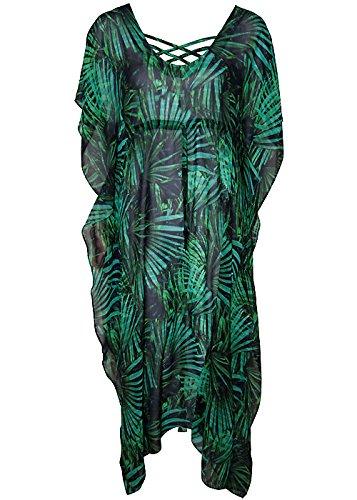 Maryan Mehlhorn Rainforest Silk (Silk Kaftan With Tie)