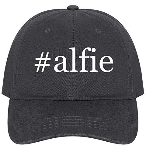 (The Town Butler #Alfie - A Nice Comfortable Adjustable Hashtag Dad Hat Cap, Dark Grey)