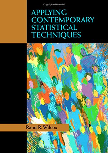 Applying Contemporary Statistical Techniques
