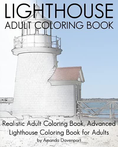 Lighthouse Coloring Book for Adults