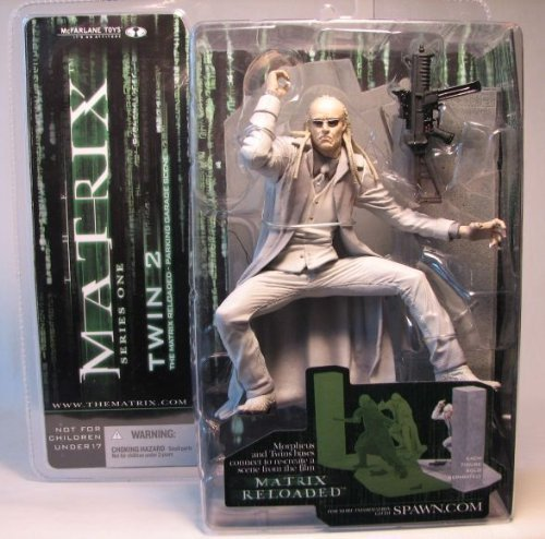 Mcfarlane the Matrix Series 1 Twin 2 by Movie Figures -