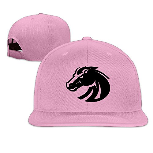 ElishaJ Adjustable Boise State University Trucker Cap Hat Pink