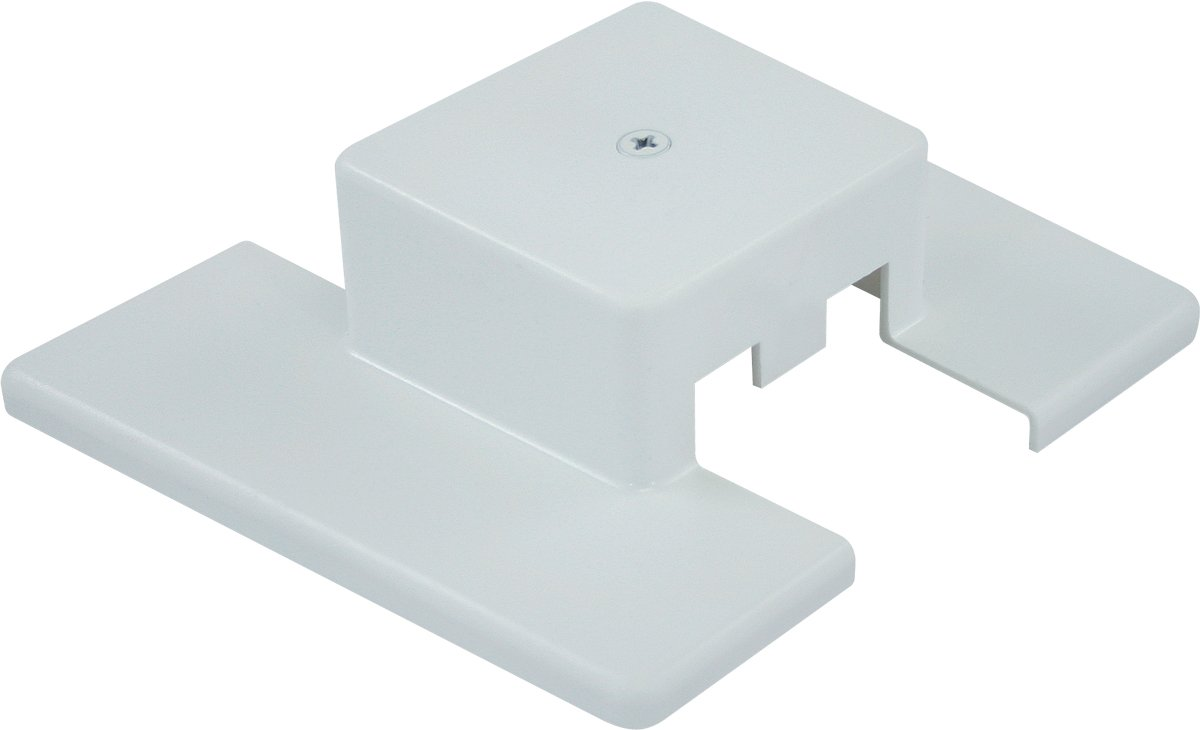 Liteline CF6108-WH Center Feed For Track Fixtures,  White