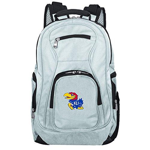 - NCAA Kansas Jayhawks Voyager Laptop Backpack, 19-inches, Grey