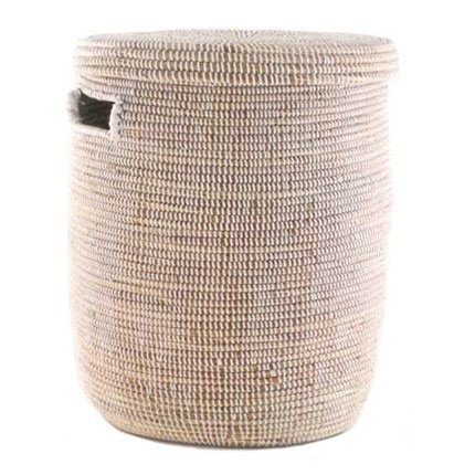 Connected Fair Trade Products Woven Storage Laundry Basket - Flat Lid