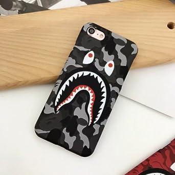 "Tenkey I Phone 6+/6s+ 5.5"" Case, A Bathing Ape (Bape) Slim Protective Premium Hard Case For I Phone 6/6s Plus (Gray Camo) by Tenkey"