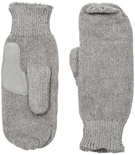 Isotoner Women's Chenille Mittens with Boomerang Palm Pat...