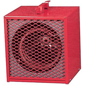 Amazon Com Fahrenheat Brh562 Portable Heaters Red Home