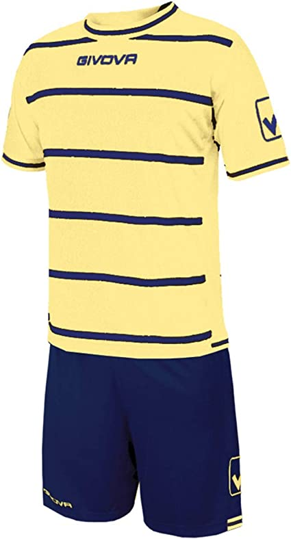 Giosal Kit Caos Hombre Deporte Fútbol Deportivo Completo Futbolín, Hombre, Avorio-BLU, L: Amazon.es: Deportes y aire libre
