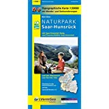 Naturpark Saar-Hunsrück, Blatt West mit Saar-Hunsrück-Steig, den Traumschleifen Saar-Hunsrückund der Obermosel von Perl bis Trier: Naturparkkarte ... Rheinland-Pfalz 1:50000 /1:100000)