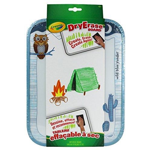 (Crayola Dry Erase Board Critters, White, 8.5 X 11, Wild Blue Yonder (98-8622-0-300))