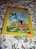 Krtek and the Car / Kisvakond es az Auto / Dino 99 piece PUZZLE / No.010697 for ages 7+