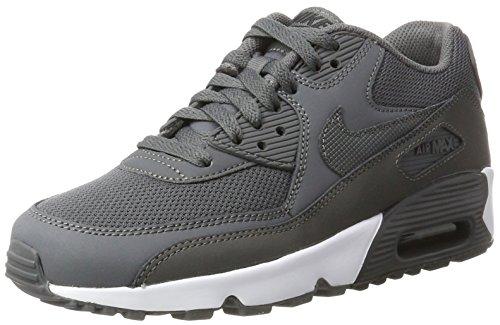 size 40 85c53 9f6d5 Nike Jungen Air Max 90 Mesh (Gs) Sneaker, Grau, 37.5 EU  Amazon.de  Schuhe    Handtaschen