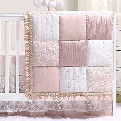 Grace Baby Girl Crib Bedding Sets by The Peanut Shell