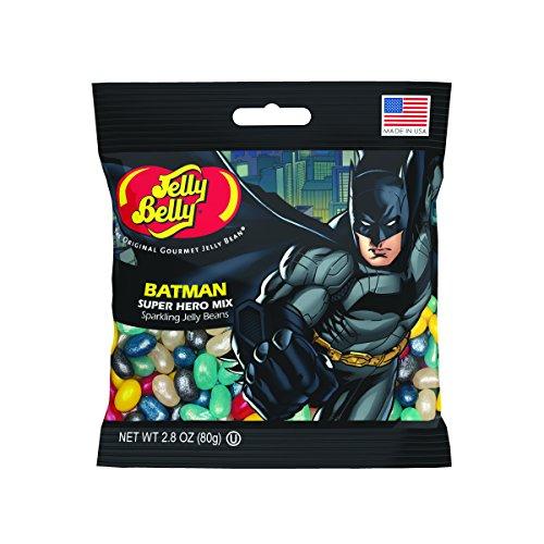 Jelly Belly Batman Jelly Beans, Super Hero Mix, 2.8-oz, 12 Pack -