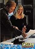 Emily Proctor David Caruso trading card CSI Miami 2004#39 Calleigh Duquesne Horatio Caine