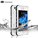 RedPepper Waterproof Case for iPhone 6 Plus/6s Plus[5.5-Inch Version], IP68 Certified Drop Resistant