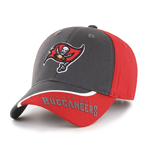 NFL Tampa Bay Buccaneers Kid's Sprout OTS All-Star Adjustable Hat, Torch Red, Kid's